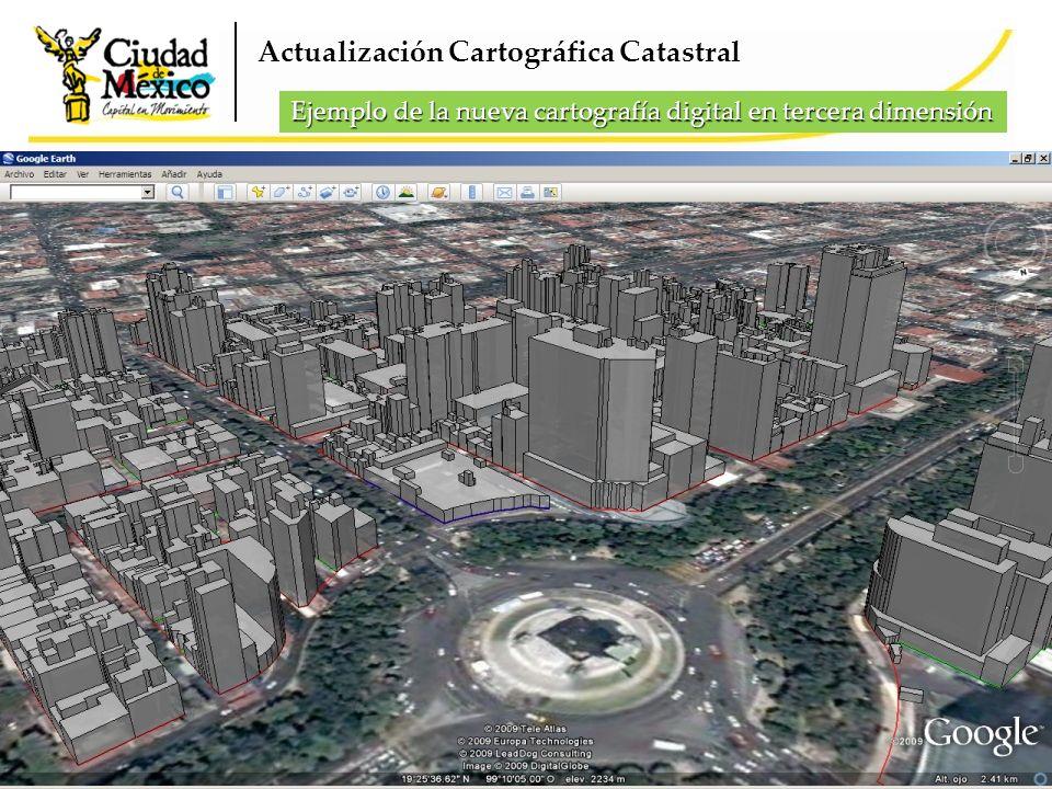 Actualización Cartográfica Catastral