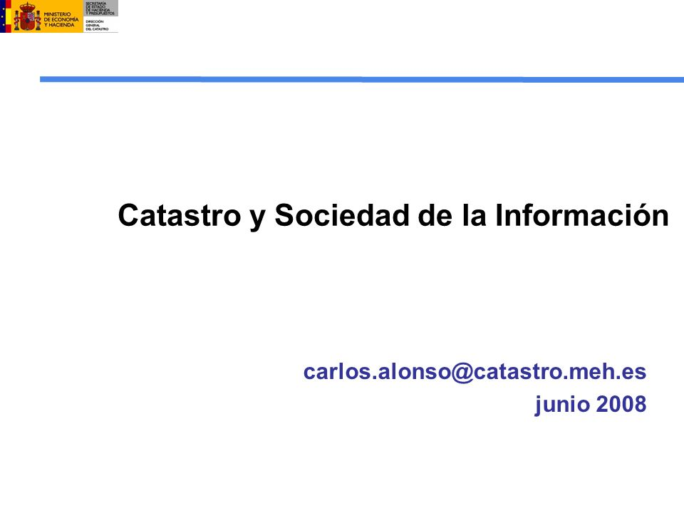 Catastro y sociedad de la informaci n ppt descargar for Oficina virtual del catastro