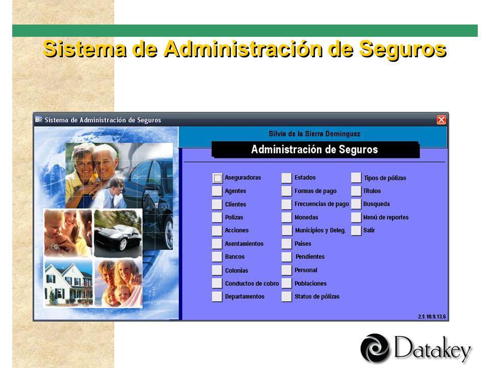 Sistema de Administración de Seguros