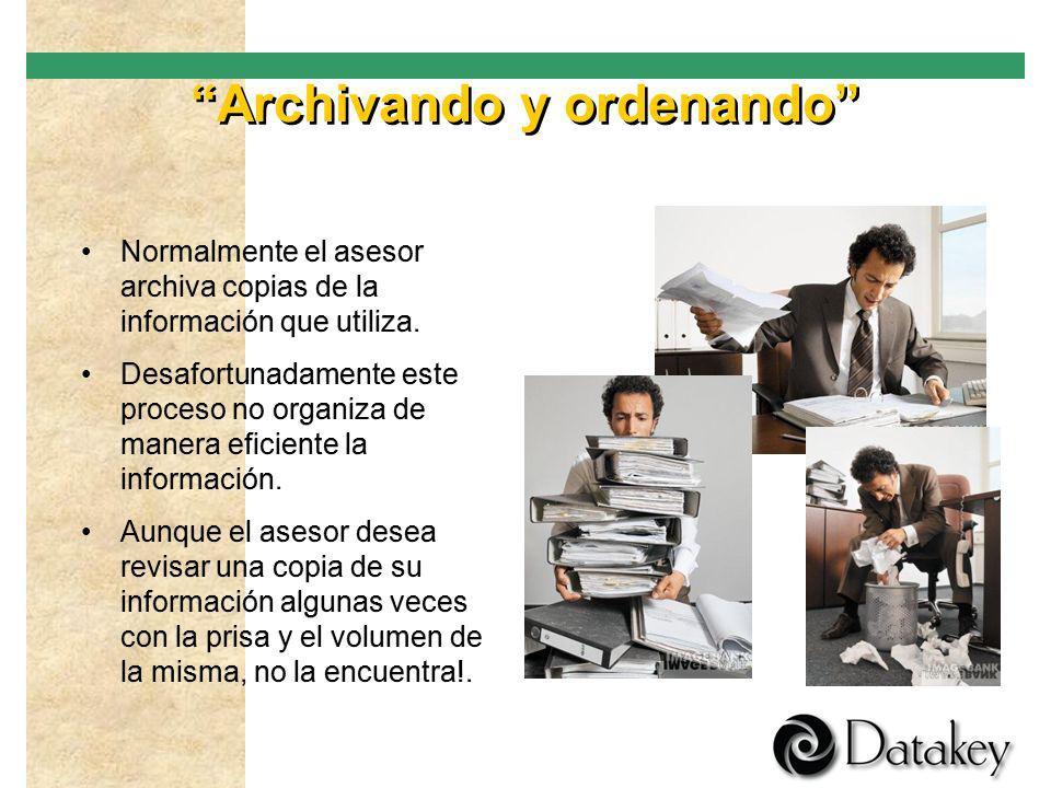 Archivando y ordenando