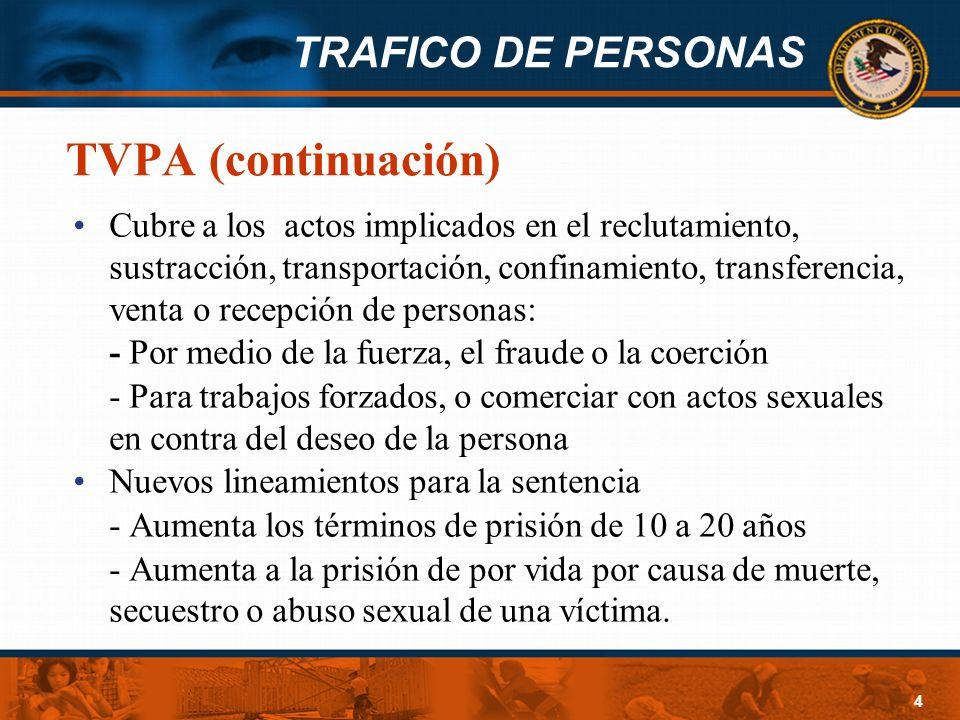TVPA (continuación)