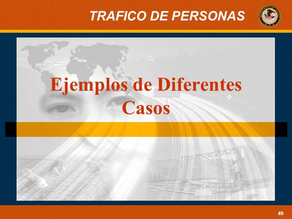 Ejemplos de Diferentes Casos