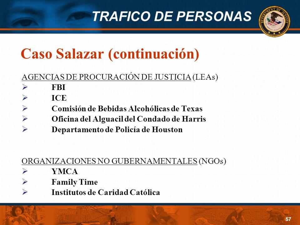 Caso Salazar (continuación)