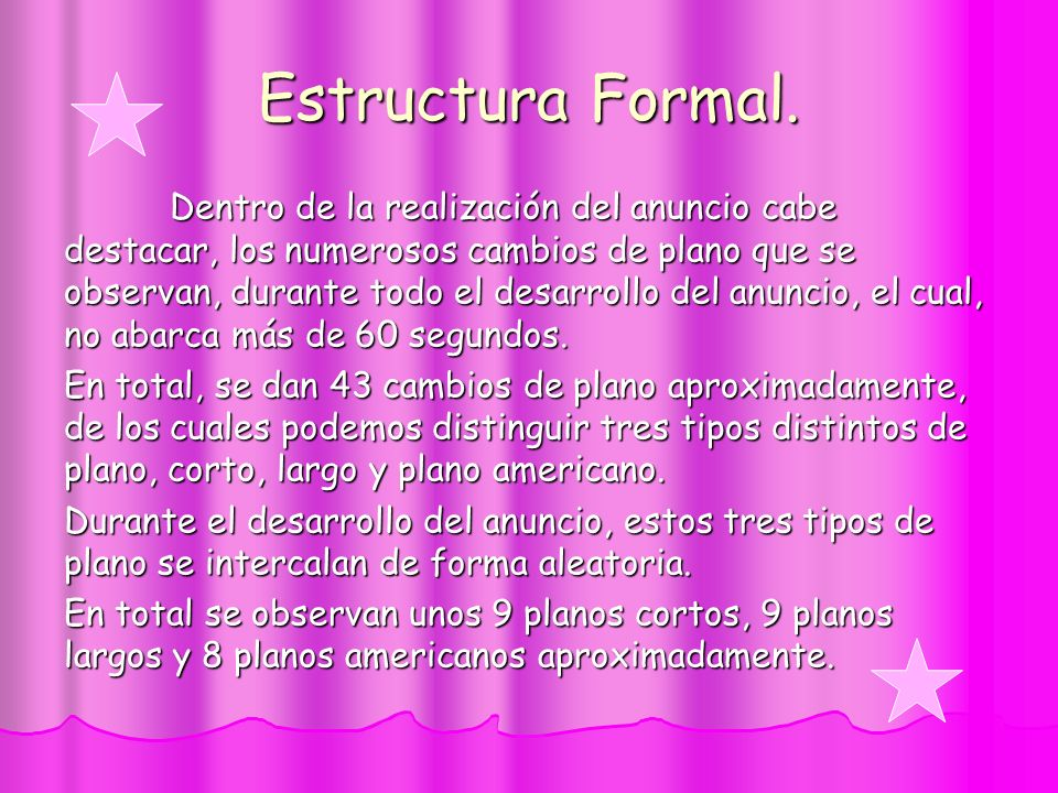 Estructura Formal.