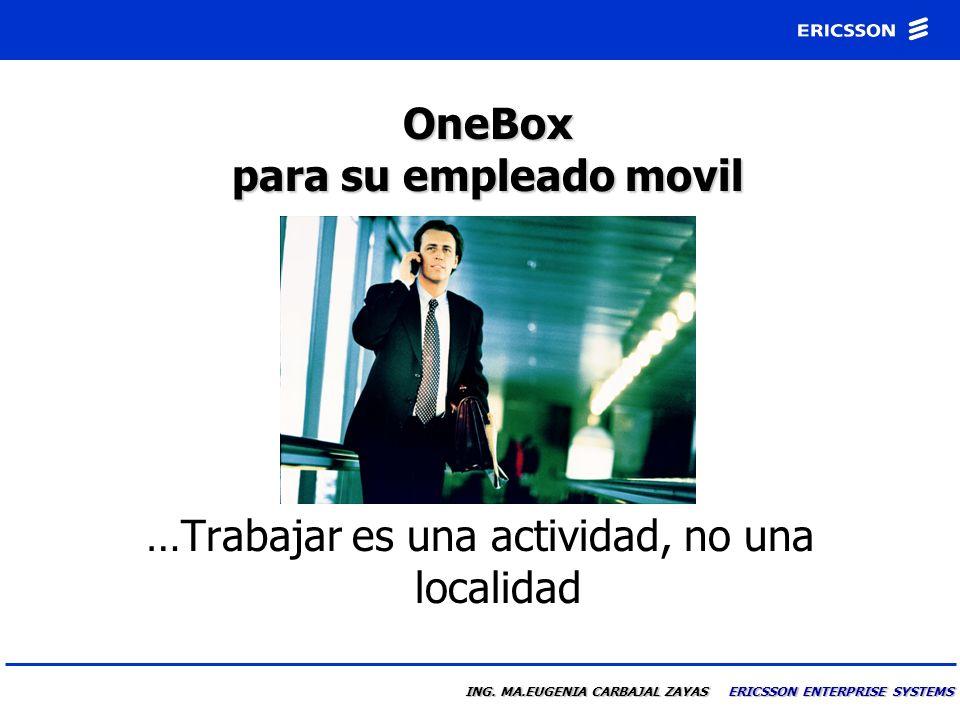 OneBox para su empleado movil