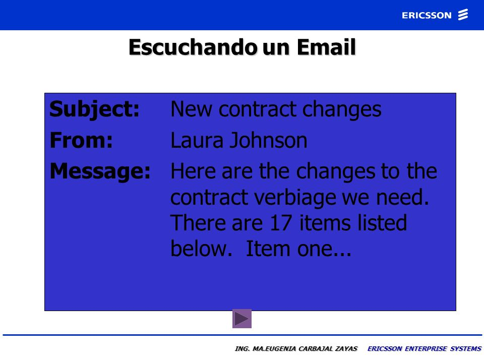 Subject: New contract changes From: Laura Johnson