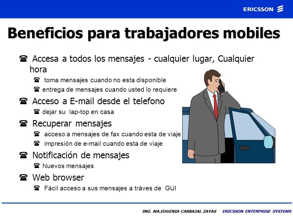 Beneficios para trabajadores mobiles