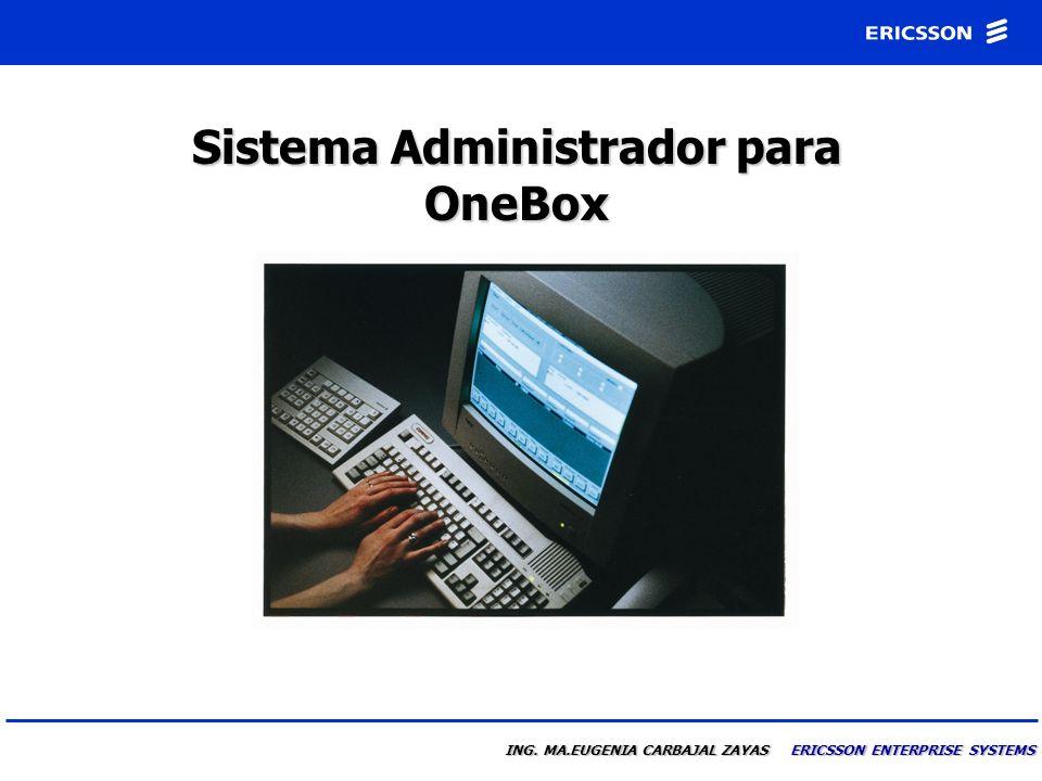 Sistema Administrador para OneBox