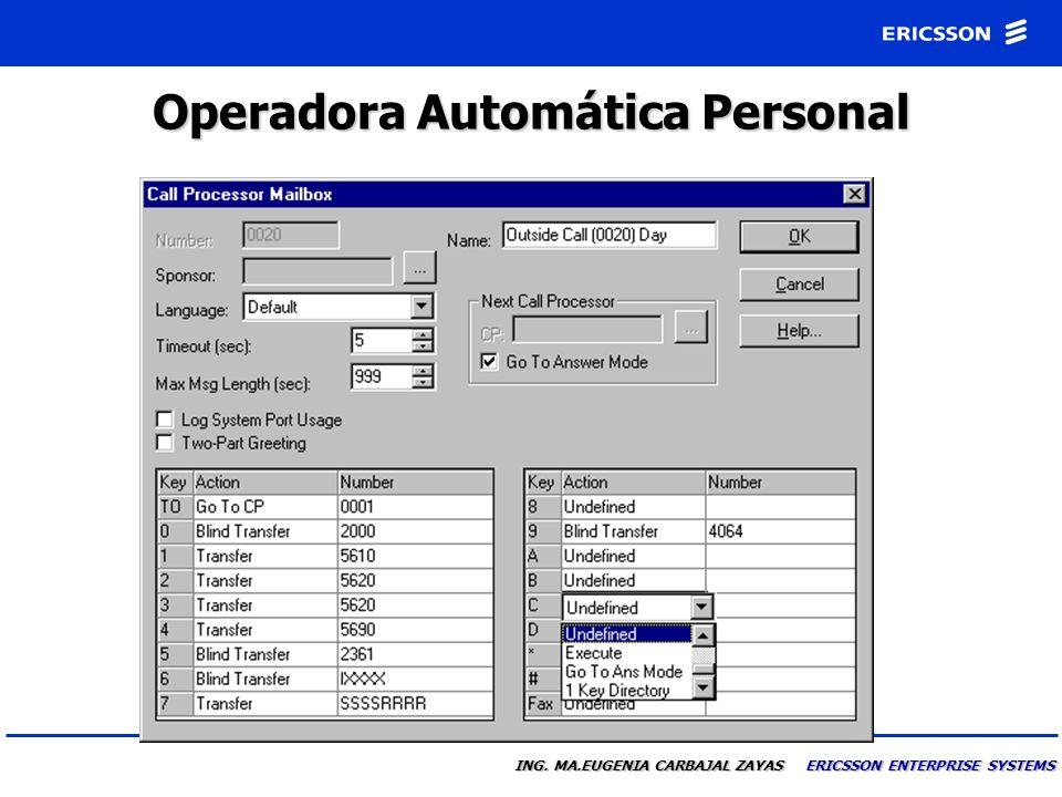 Operadora Automática Personal