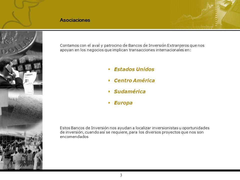 Asociaciones Estados Unidos Centro América Sudamérica Europa