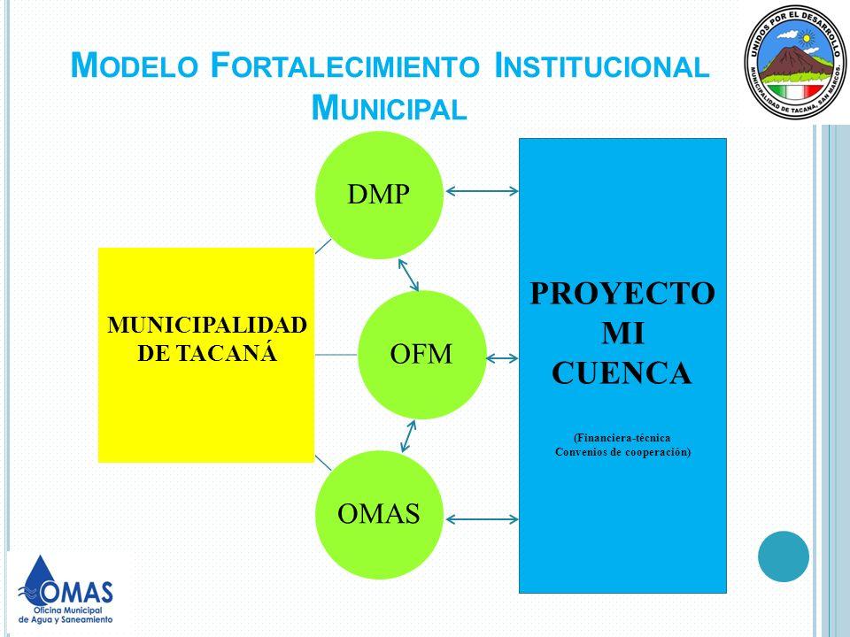 Modelo Fortalecimiento Institucional Municipal