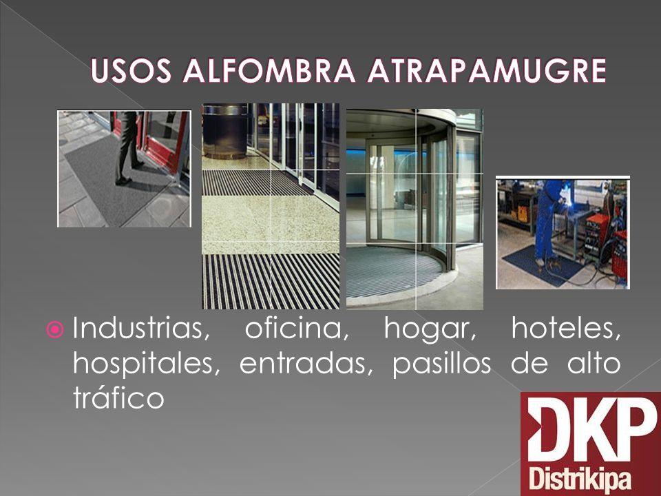 USOS ALFOMBRA ATRAPAMUGRE