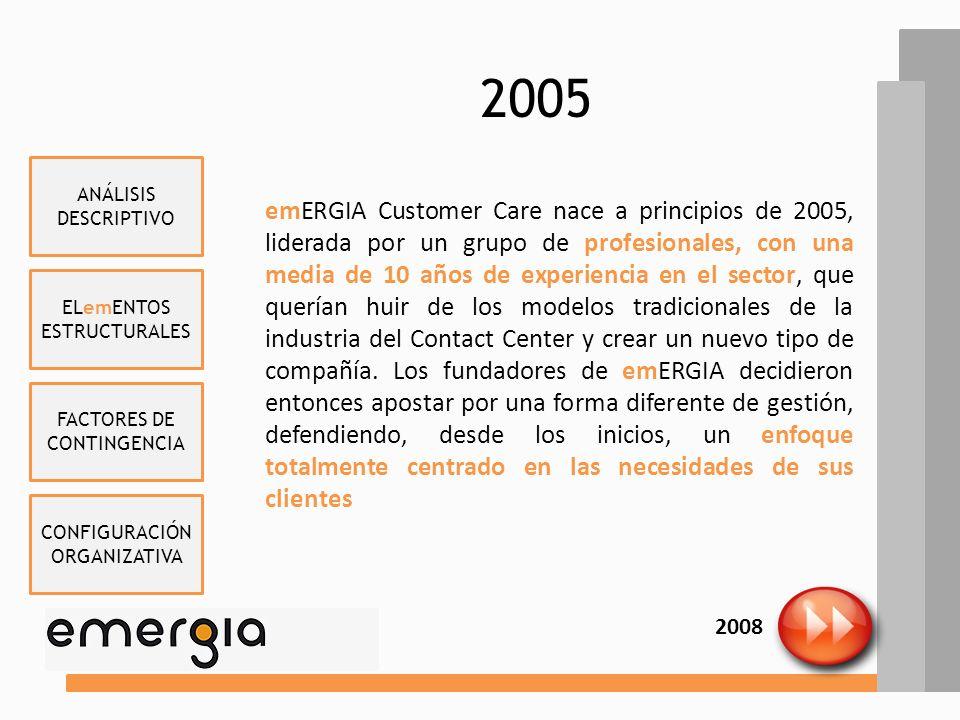 2005 ANÁLISIS DESCRIPTIVO.