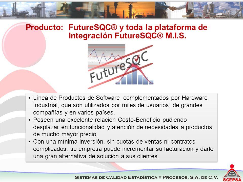 Producto: FutureSQC® y toda la plataforma de Integración FutureSQC® M