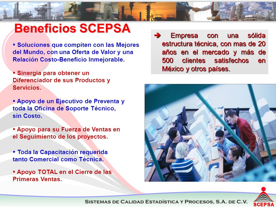 Beneficios SCEPSA