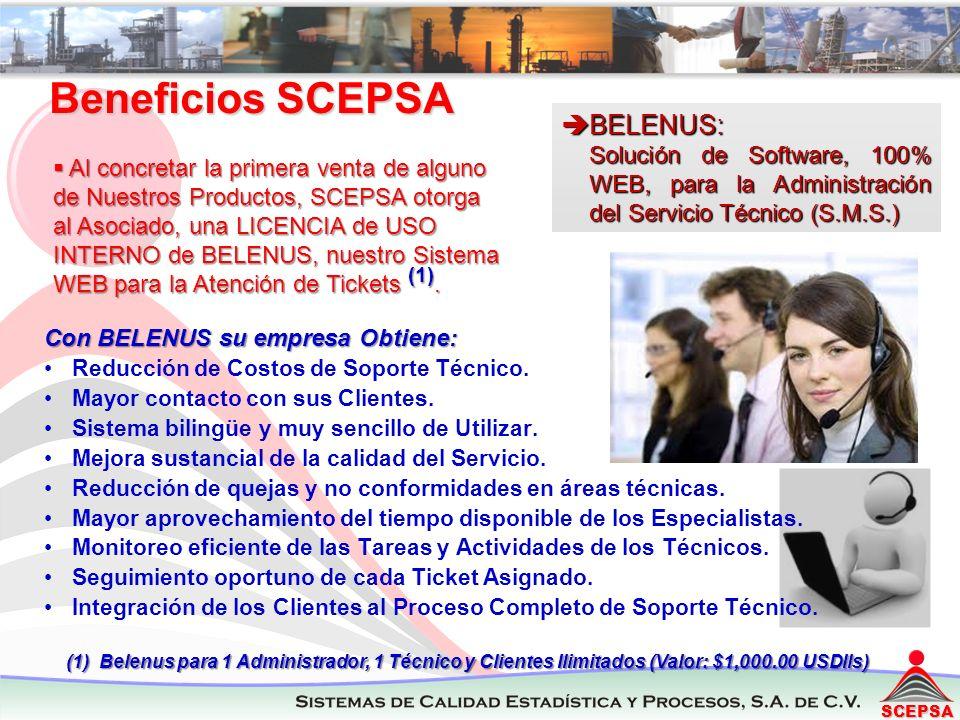 Beneficios SCEPSA BELENUS: