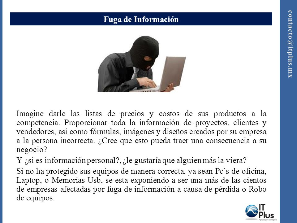 Fuga de Información