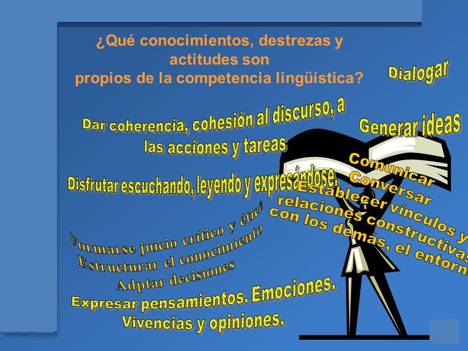 Formarse juicio crítico y ético Estructurar el conocimiento