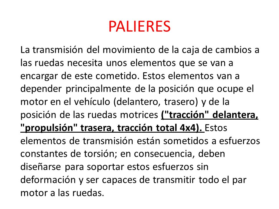 PALIERES