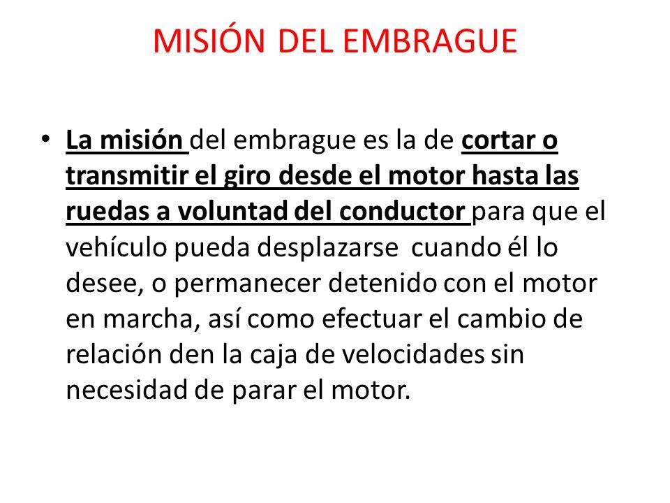 MISIÓN DEL EMBRAGUE