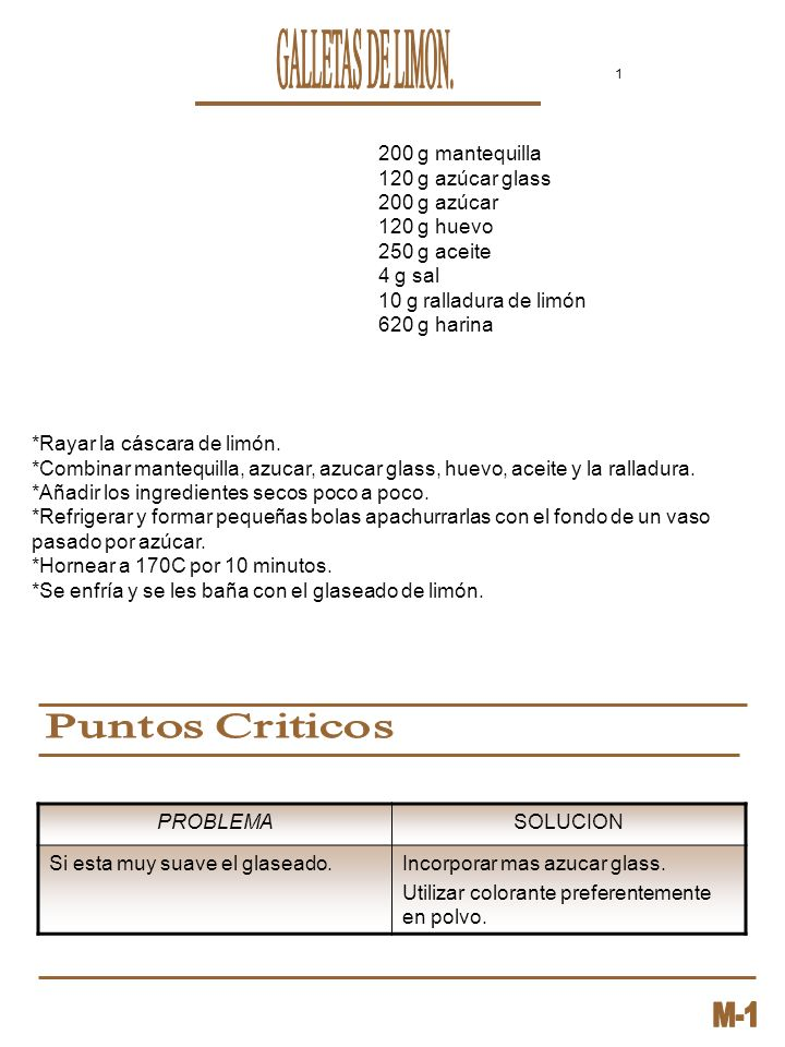 GALLETAS DE LIMON. 200 g mantequilla 120 g azúcar glass 200 g azúcar