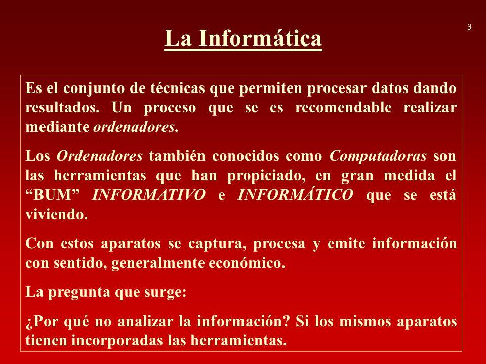 3 La Informática.