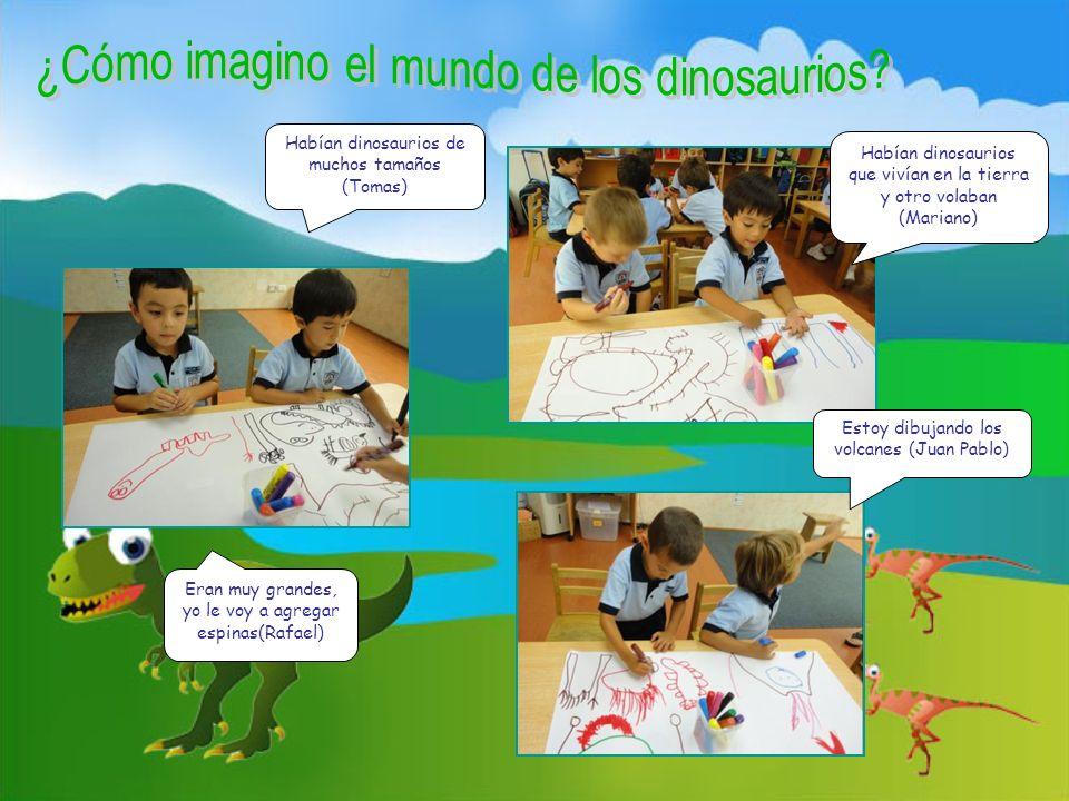 Habían dinosaurios de muchos tamaños (Tomas)