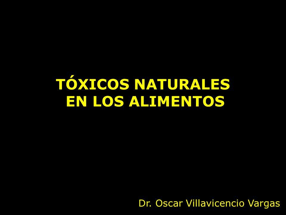 TÓXICOS NATURALES EN LOS ALIMENTOS