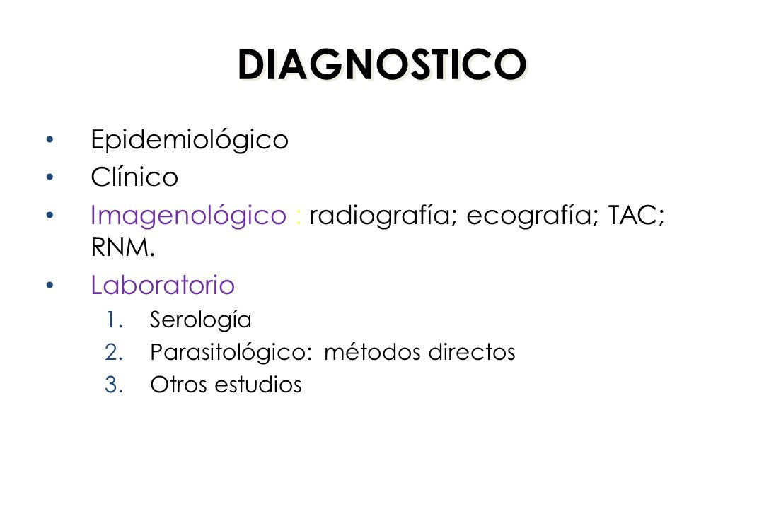 DIAGNOSTICO Epidemiológico Clínico