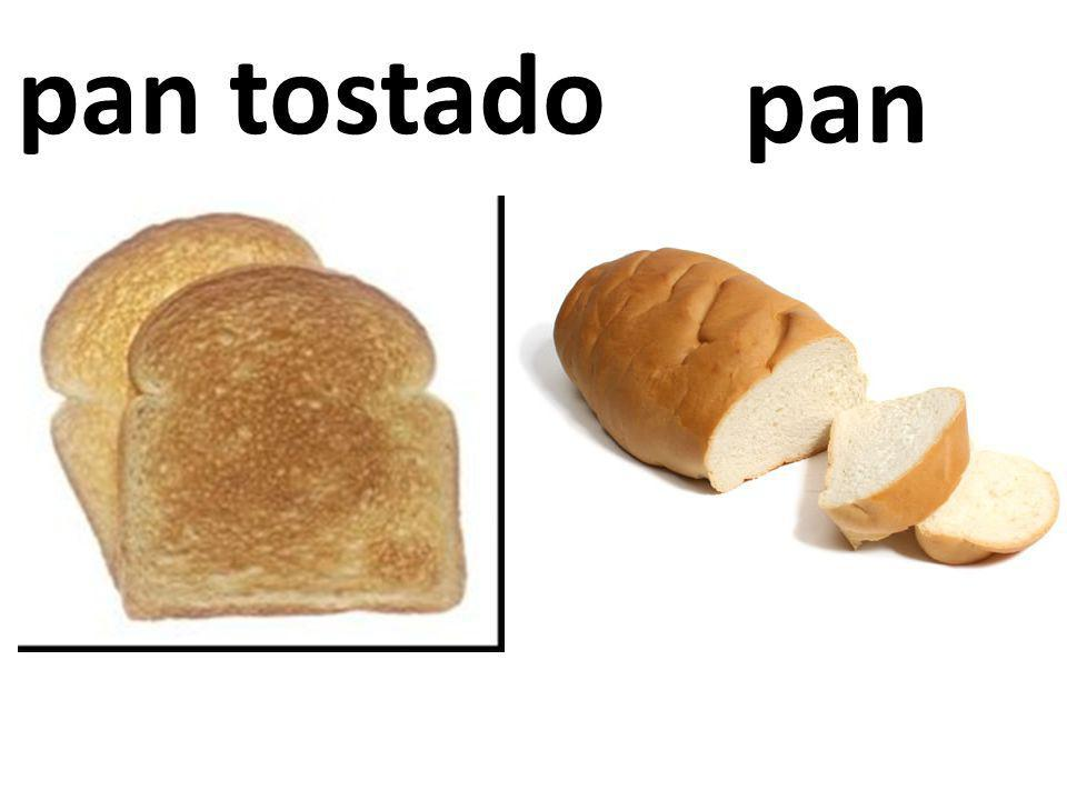 pan tostado pan