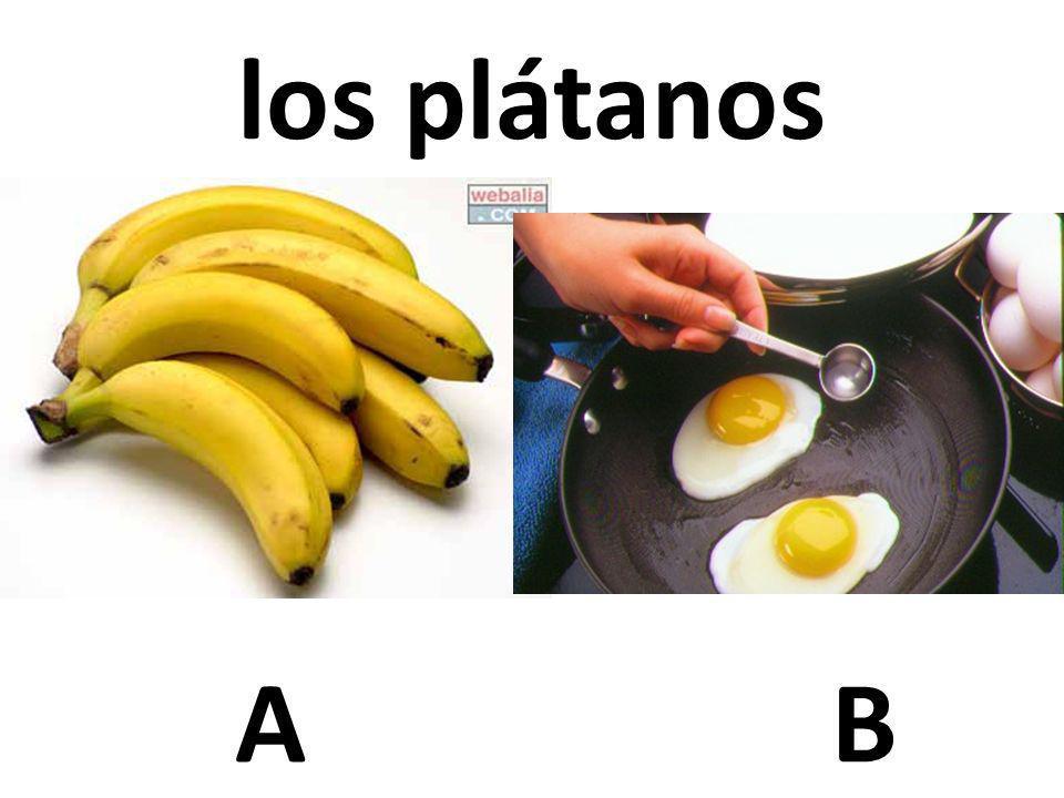 los plátanos A B 27