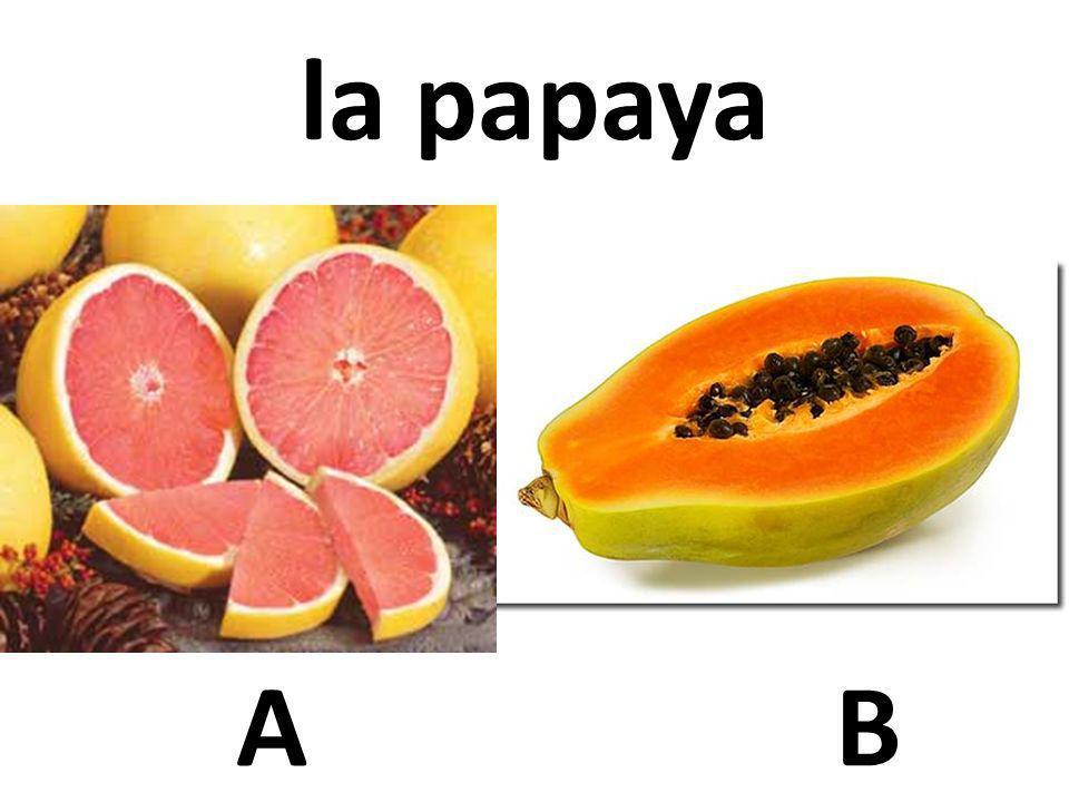 la papaya A B 31