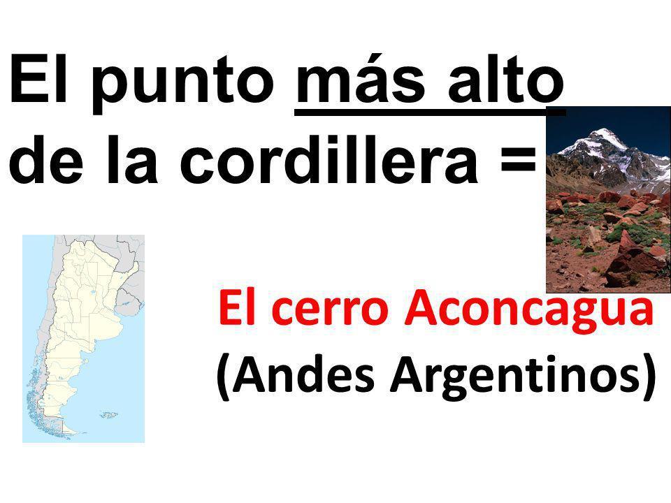 El cerro Aconcagua (Andes Argentinos)