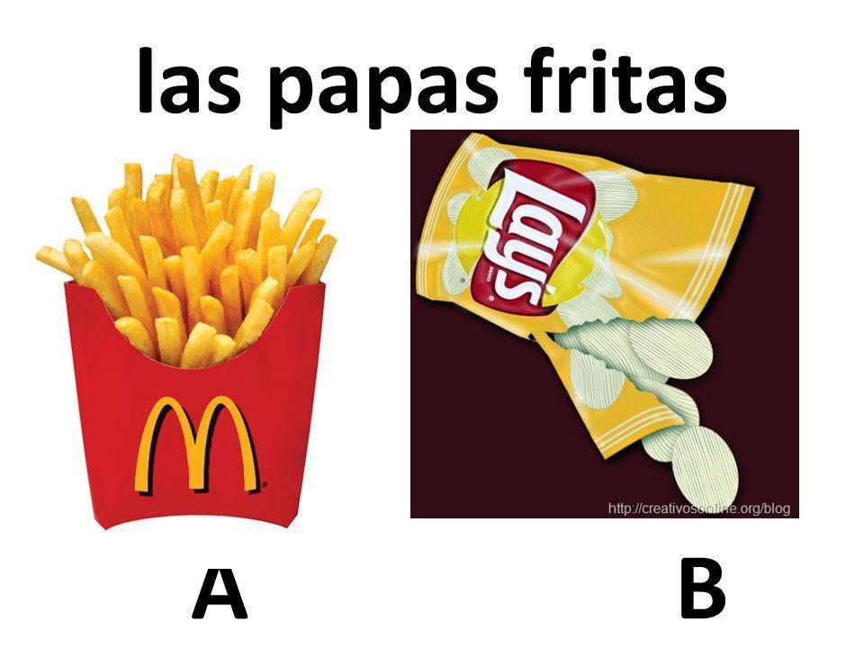 las papas fritas A B 73