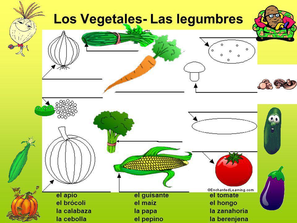 Los Vegetales- Las legumbres