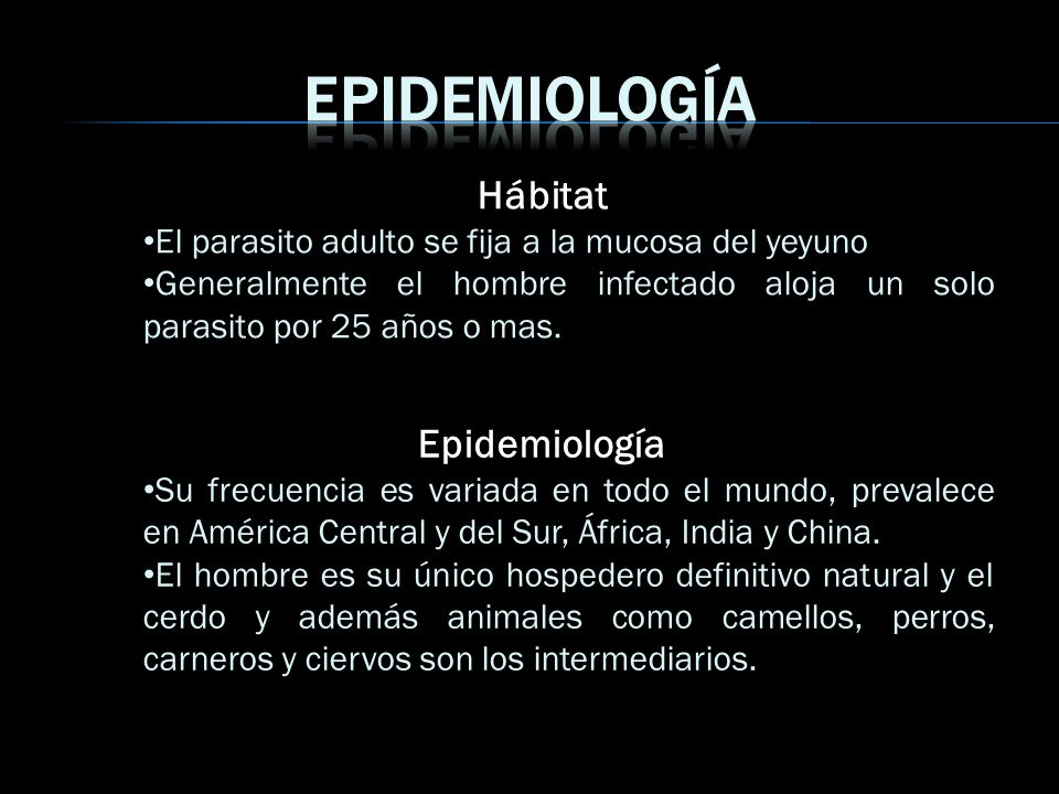 Epidemiología Hábitat Epidemiología
