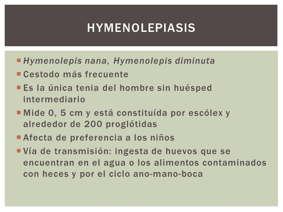 hymenolepiasis Hymenolepis nana, Hymenolepis diminuta
