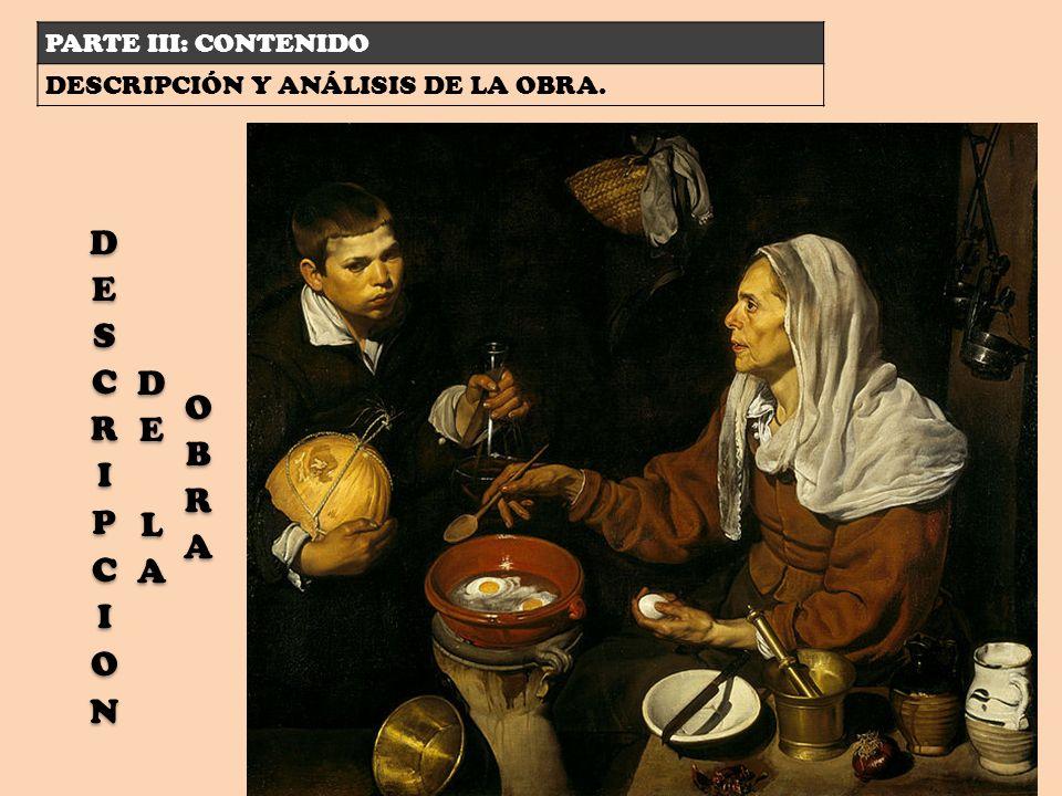 DESCRIPCION DE LA OBRA PARTE III: CONTENIDO