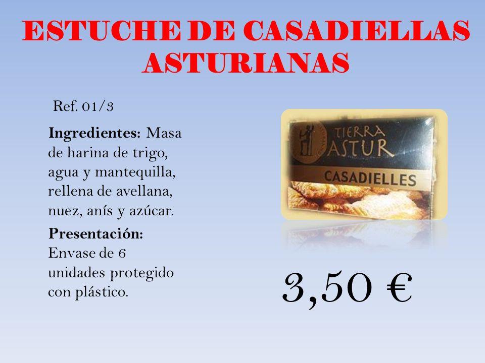 ESTUCHE DE CASADIELLAS ASTURIANAS