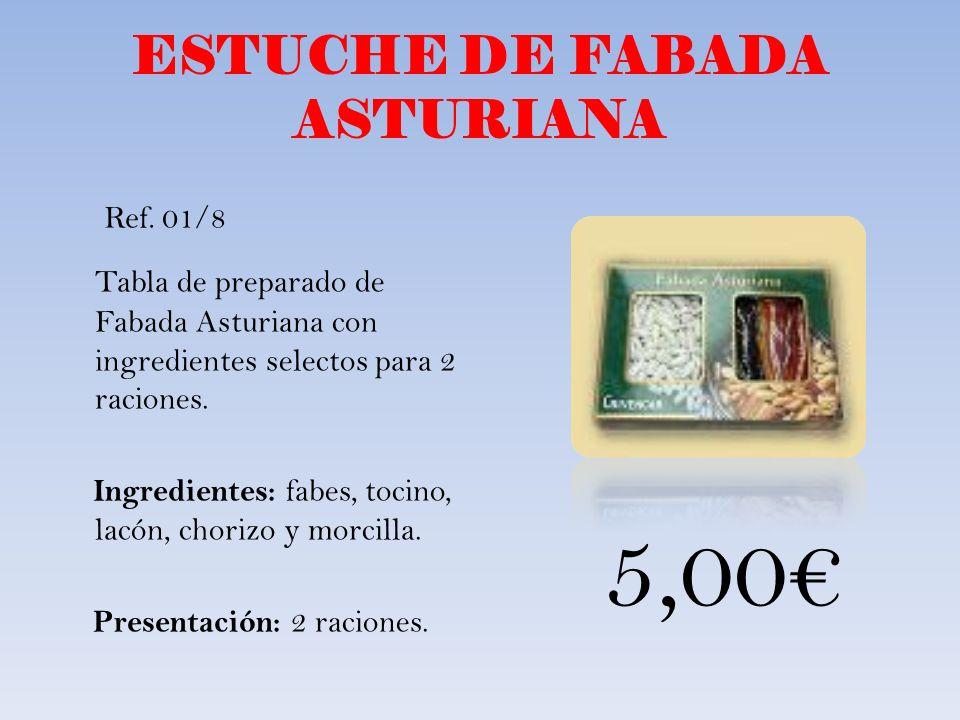 ESTUCHE DE FABADA ASTURIANA