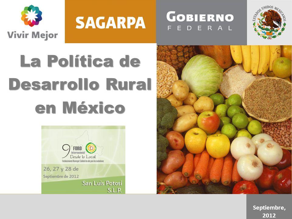 La Política de Desarrollo Rural en México