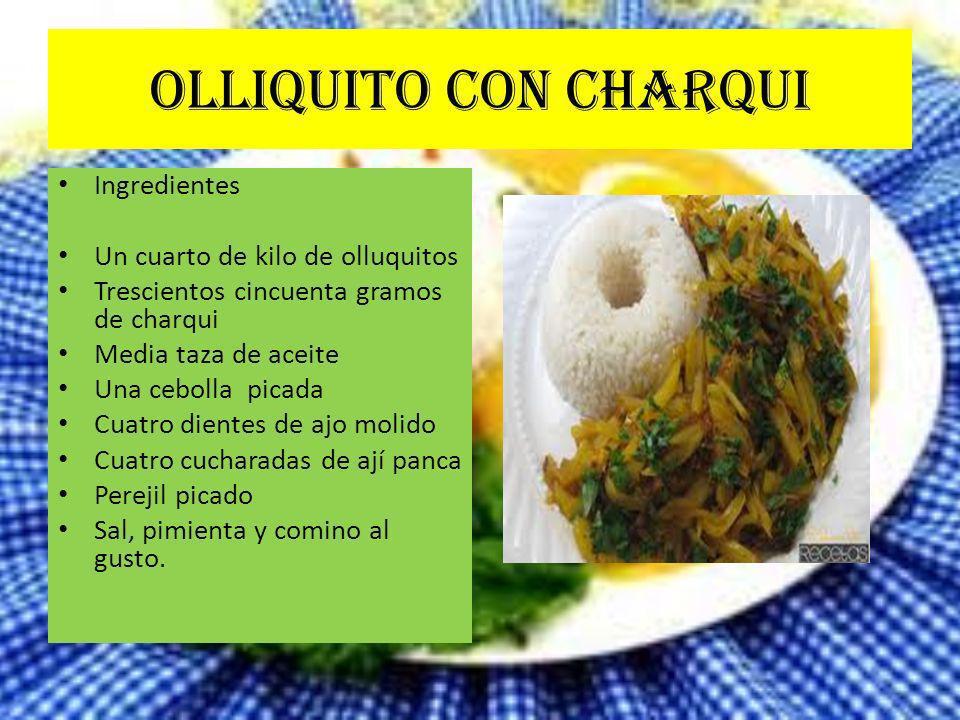 Gastrononia peruana expositor mirian campos suarez ppt for Un cuarto de kilo
