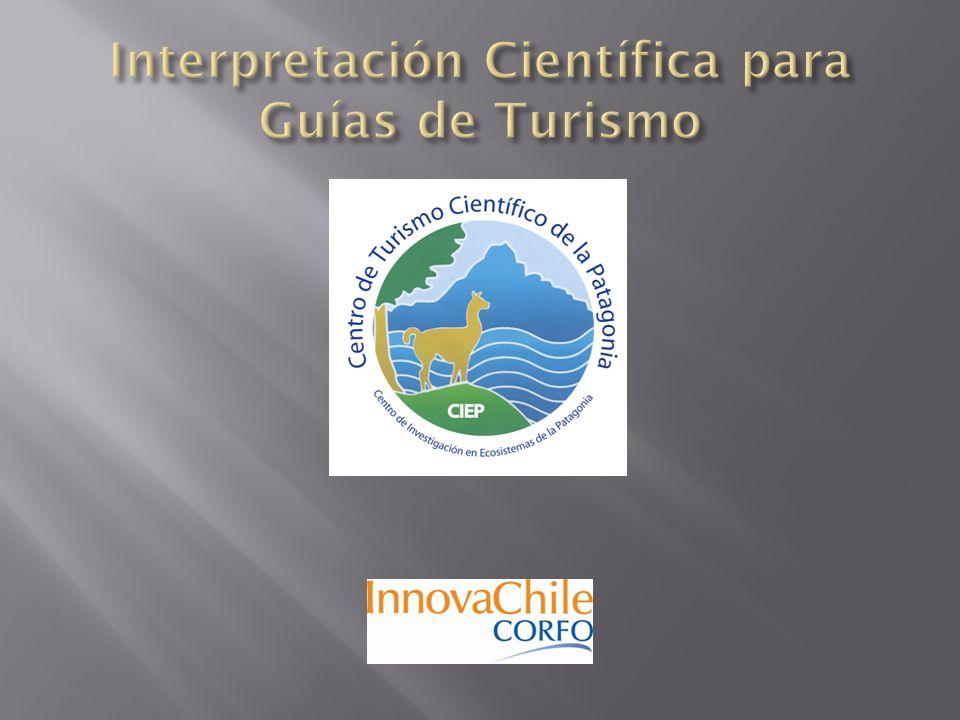 Interpretación Científica para Guías de Turismo