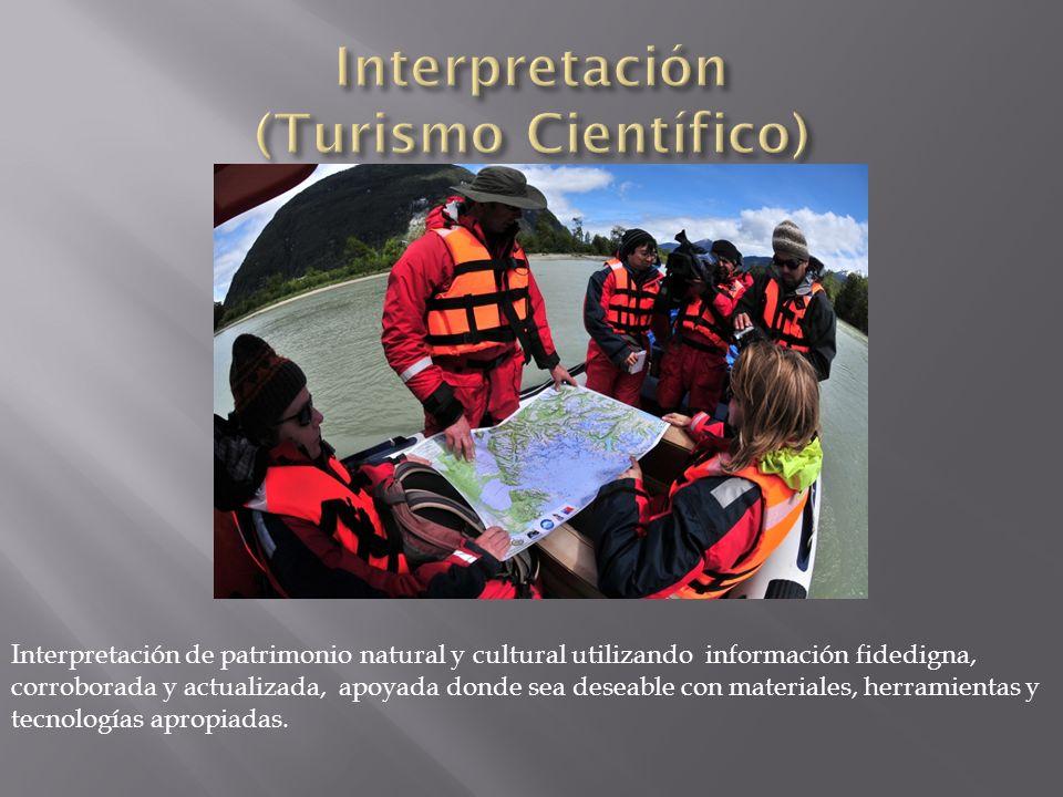 Interpretación (Turismo Científico)