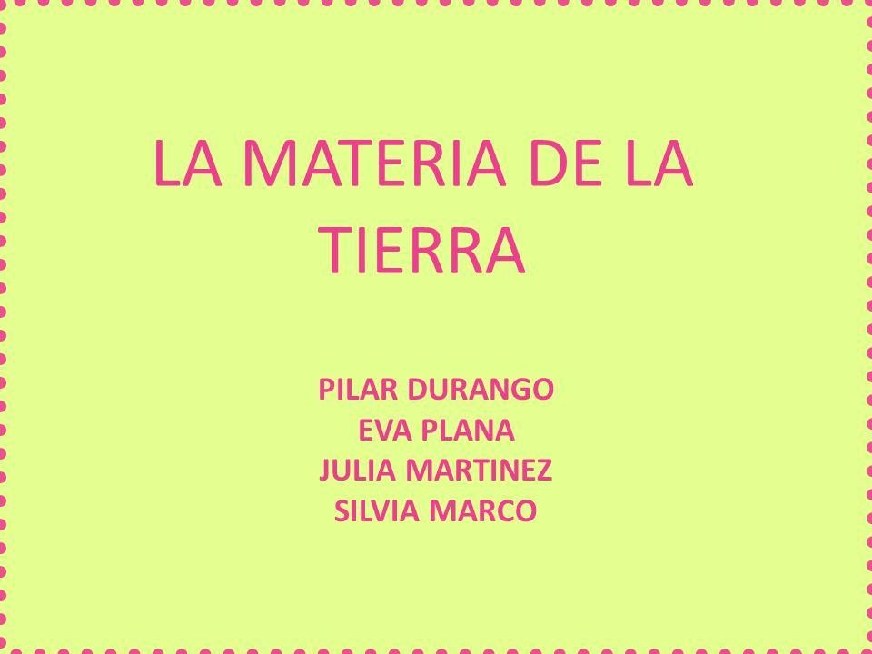 PILAR DURANGO EVA PLANA JULIA MARTINEZ SILVIA MARCO