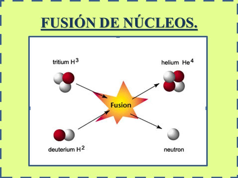 FUSIÓN DE NÚCLEOS.