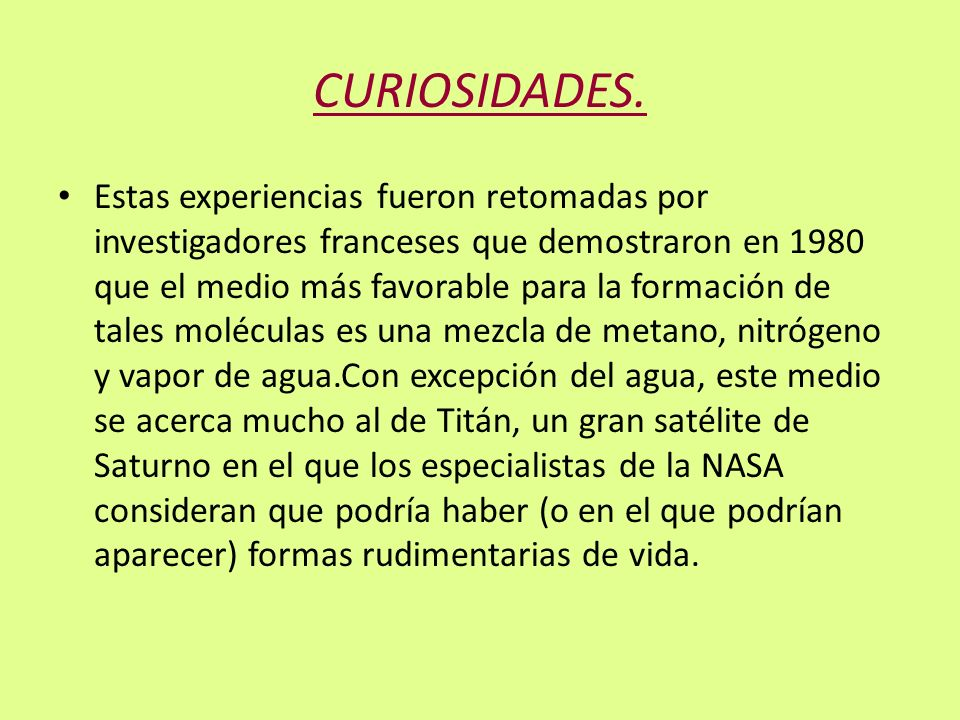 CURIOSIDADES.
