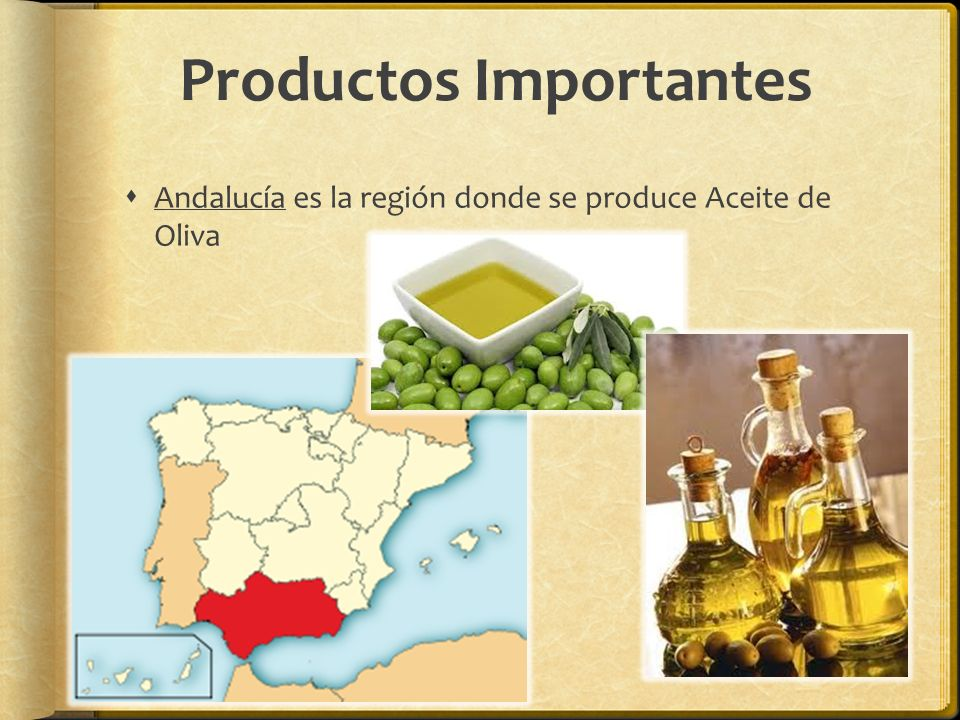 Productos Importantes
