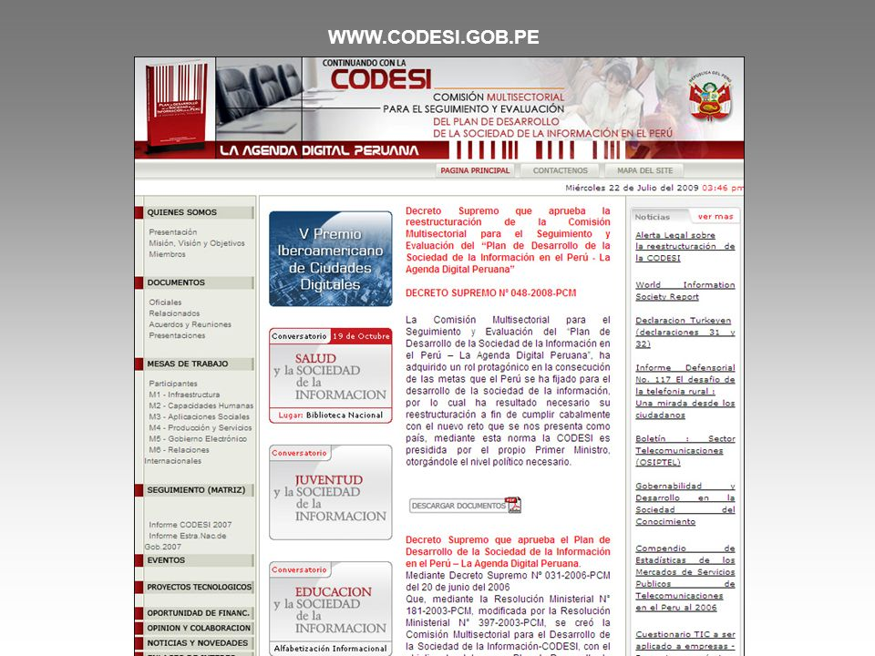 WWW.CODESI.GOB.PE