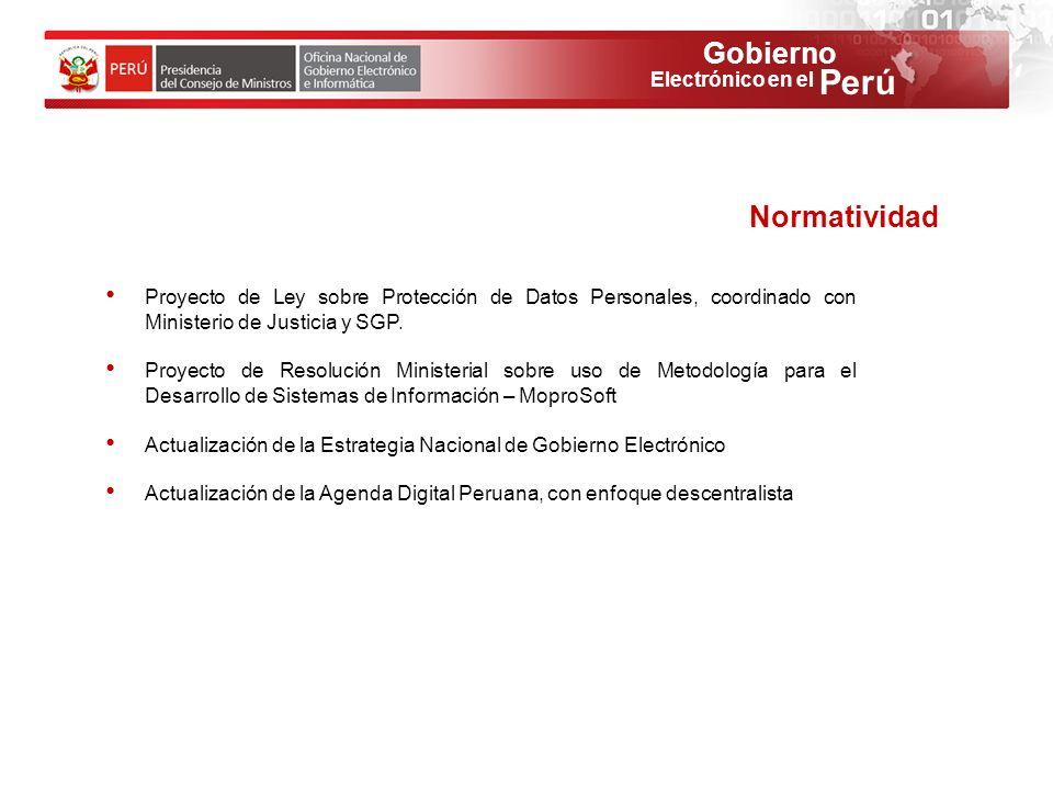 Normatividad Proyecto de Ley sobre Protección de Datos Personales, coordinado con Ministerio de Justicia y SGP.